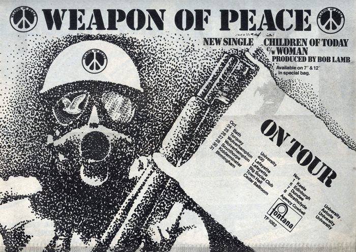 photograph of weapon of peace